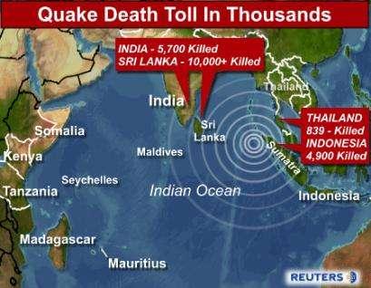Christmas Tsunami.2004 Gran Canaria Winter An Indian Ocean Tsunami